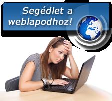 Segédlet a weboldaladhoz!